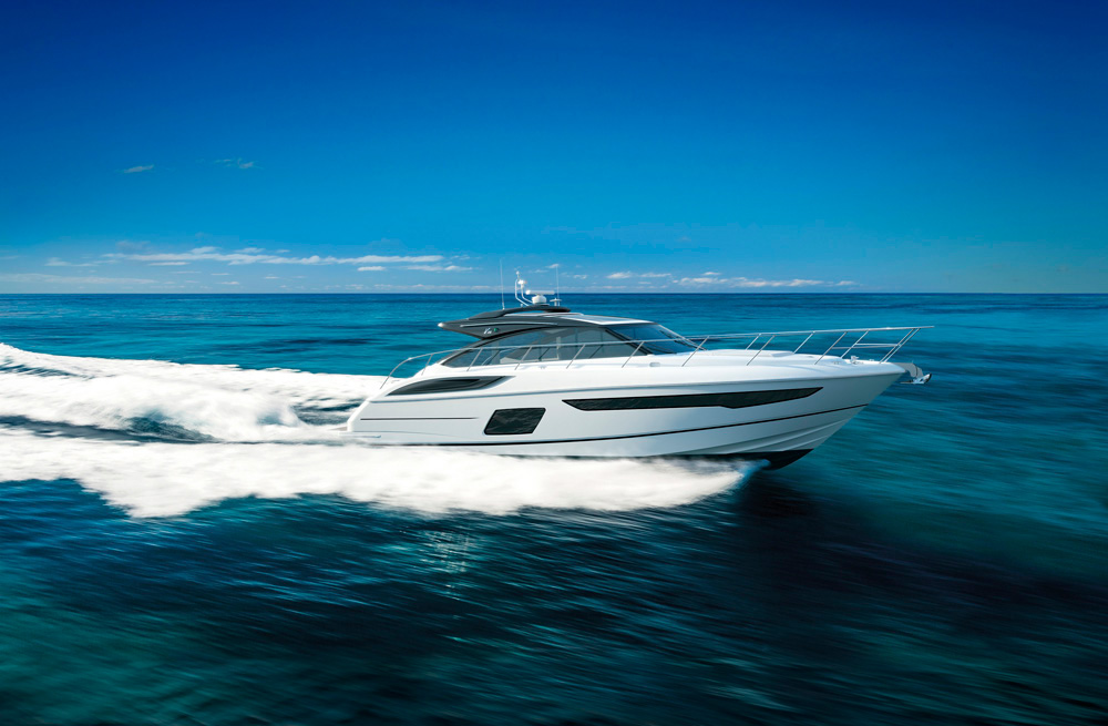 Princess Yachts' V58.