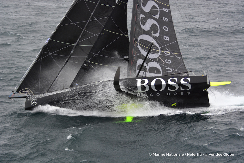 Vendee Globe - Alex Thomson, Hugo Boss