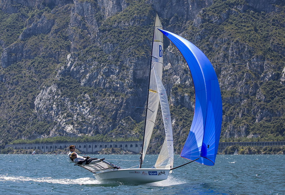 B14 dinghy - photo Tim Olin