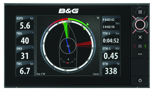 B&G Zeus2 chartplotter: Christmas gifts for sailors