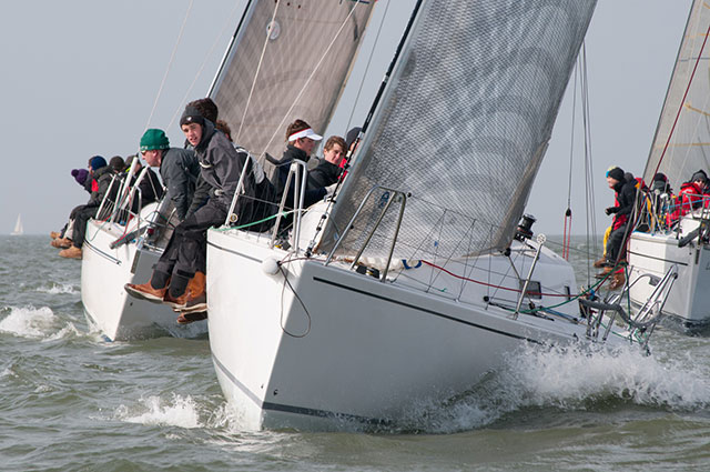 Warsash Spring Series reaches halfway point