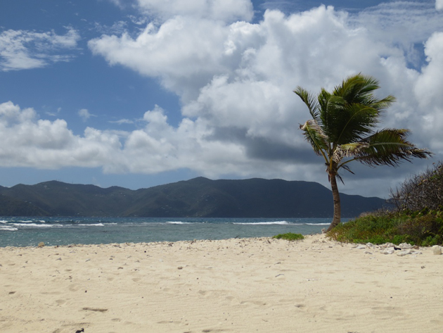 Sandy Spit, north of Tortola, British Virgin Islands