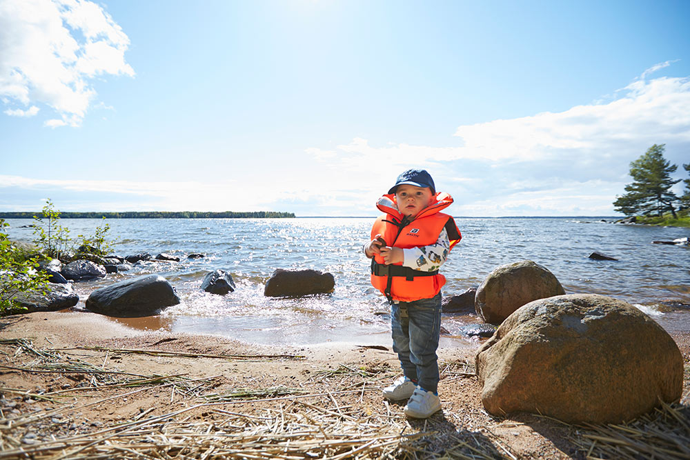 Baltic lifejackets for children