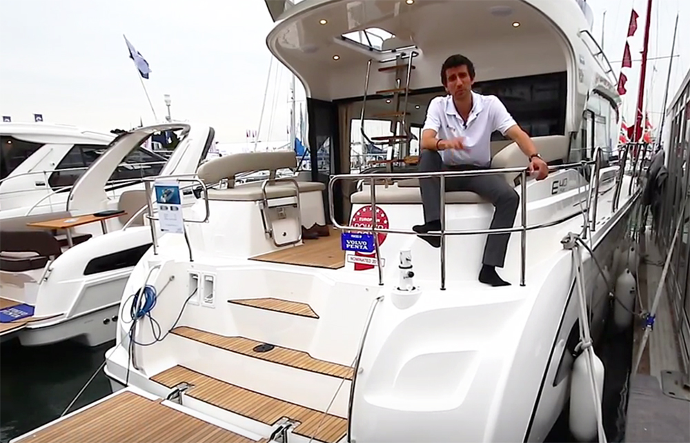 Bavaria E40: First Look Video
