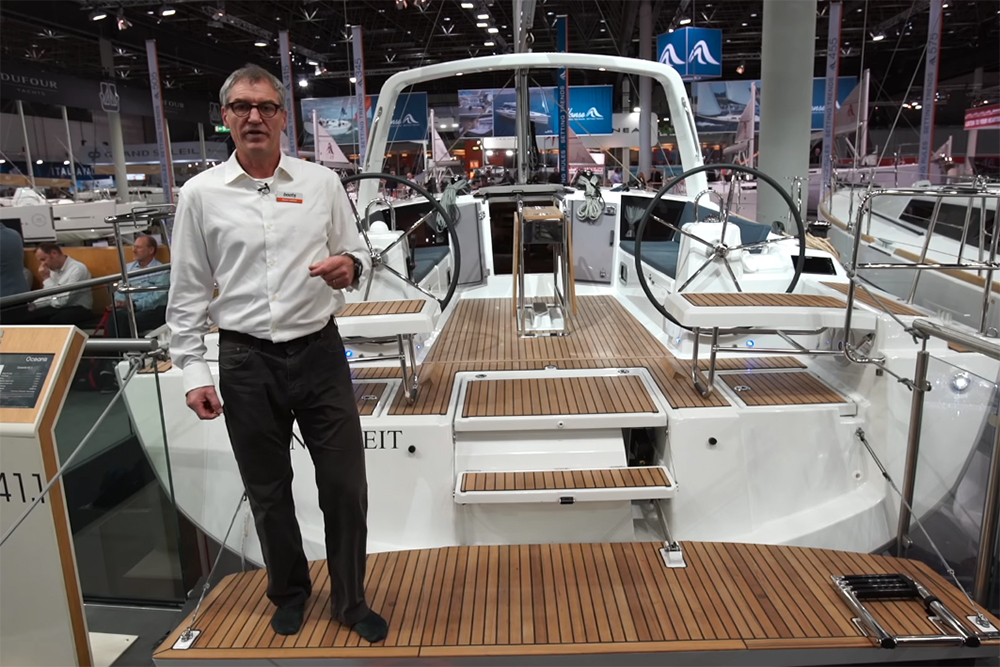 Beneteau Oceanis 41.1: First Look Video