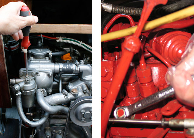 Diesel engine repairs: fuel, air, starting, wiring