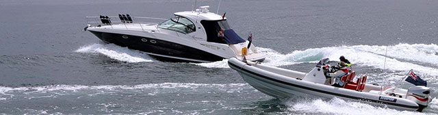 Power boats of all sizes