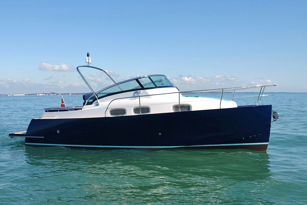 Broom will now build the English Harbour Yachts range of motorboats