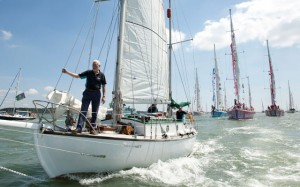 Clipper Race founder Sir Robin Knox Johnston
