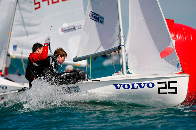 420 sailors Charlie Cox and Craig Dibb