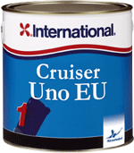 International Paints Cruiser Uno antifouling paint