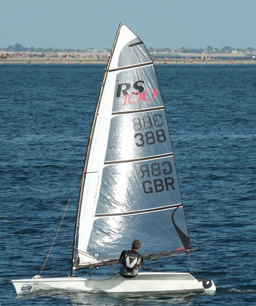 Coolest dinghies: RS100. Photo Harriet Thompson.