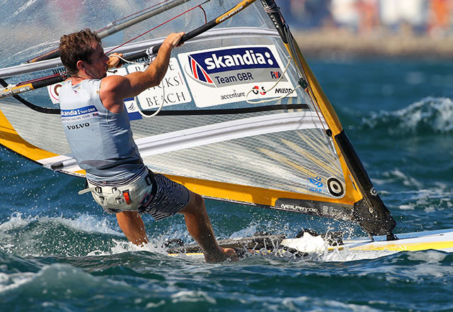 Nick Dempsey wins windsurfing worlds