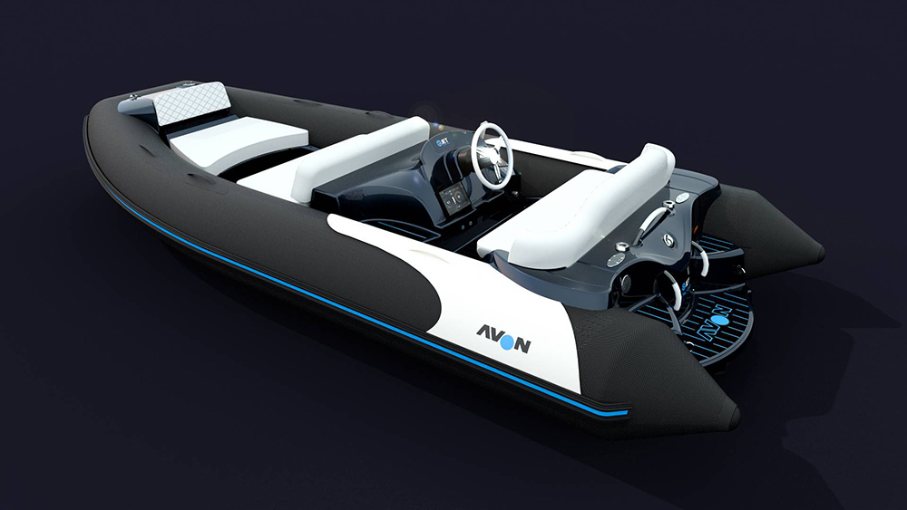 Avon eJet electric jet tender