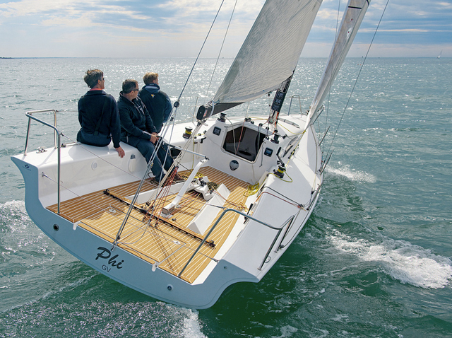 European Yacht of the Year sea trials