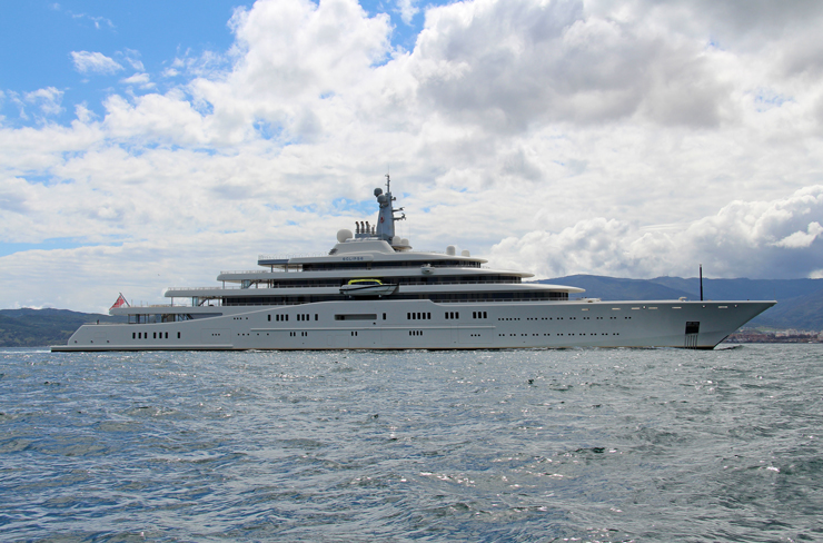 World's largest yachts: Eclipse