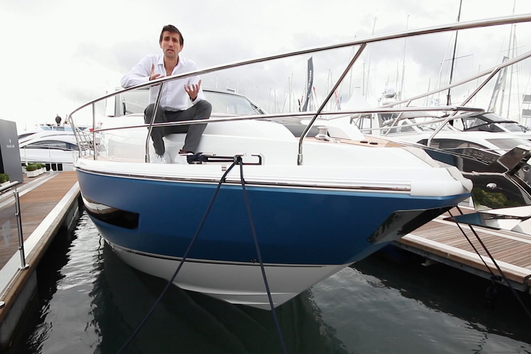 Fairline Targa 53GT video: first look