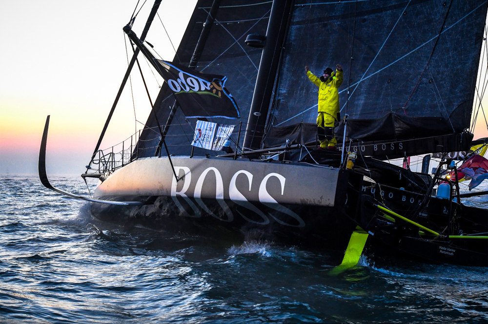 Alex Thomson finished the 2016-17 Vendee Globe in second place. Photo Vincent Crutchet/DPPI/Vendee Globe.