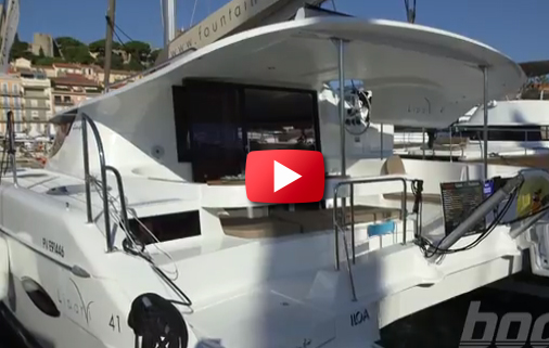 First Look Video: Fountaine Pajot 41