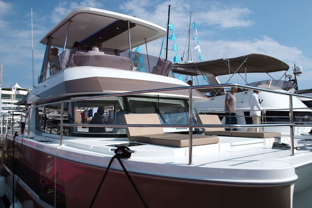Fountaine Pajot MY 37 video: first look