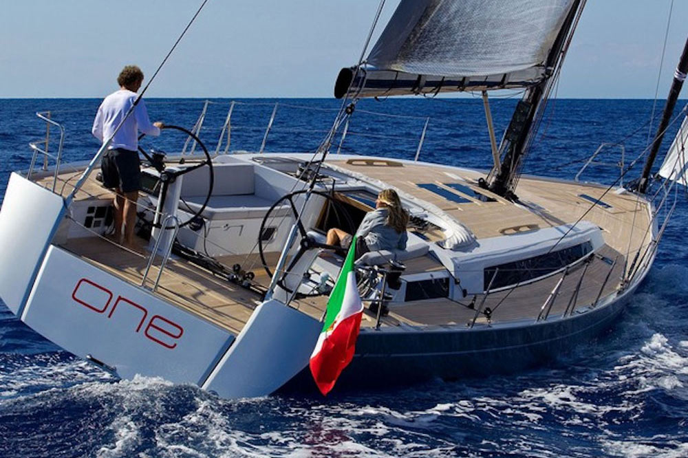 Grand Soleil 50 review: new composite structure