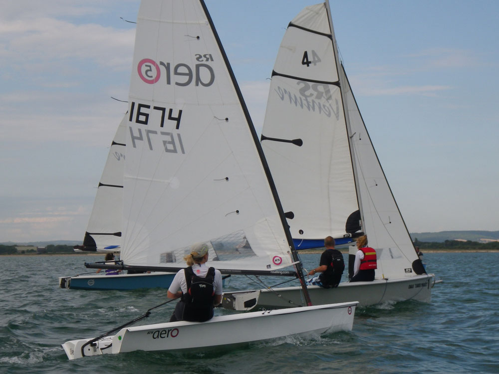 RS Aero and RS Venture: best sailing dinghies for beginners