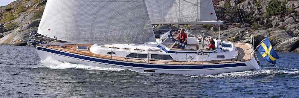 Sailing performance: Hallberg Rassy 40 Mk2