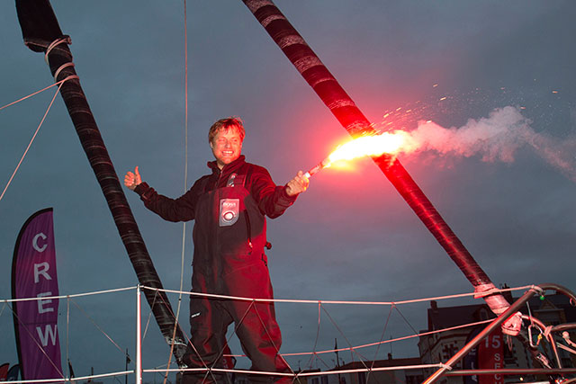 A thrilling third for Alex Thomson in the Vendee Globe