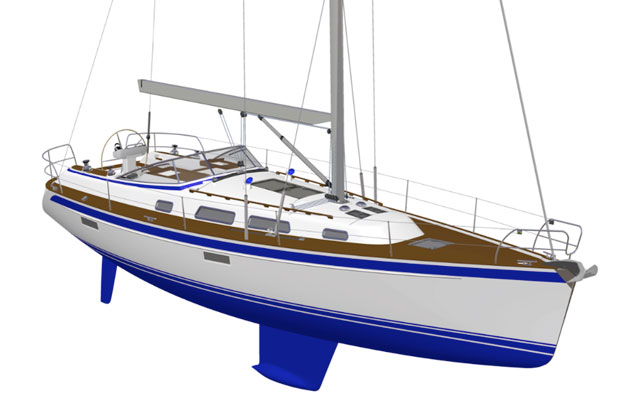 Hallberg Rassy 412 review: sporty cruiser from Sweden