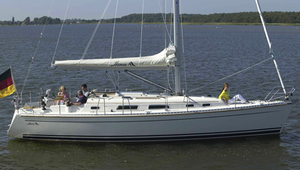 Self-tacking jib – Hanse 371