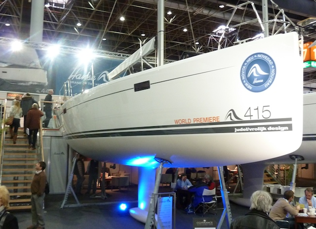 Nine yachts in the spotlight at Dusseldorf