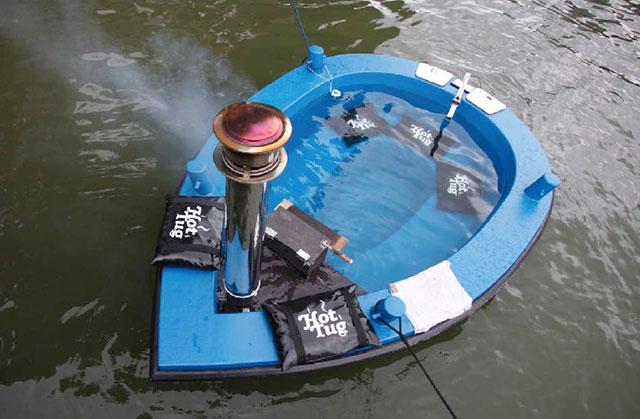 на чем работает лодка