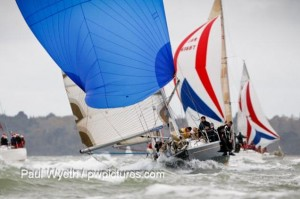 Hamble Winter Series finale