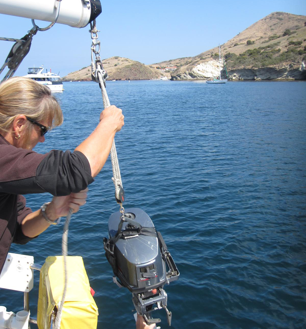 outboard handling