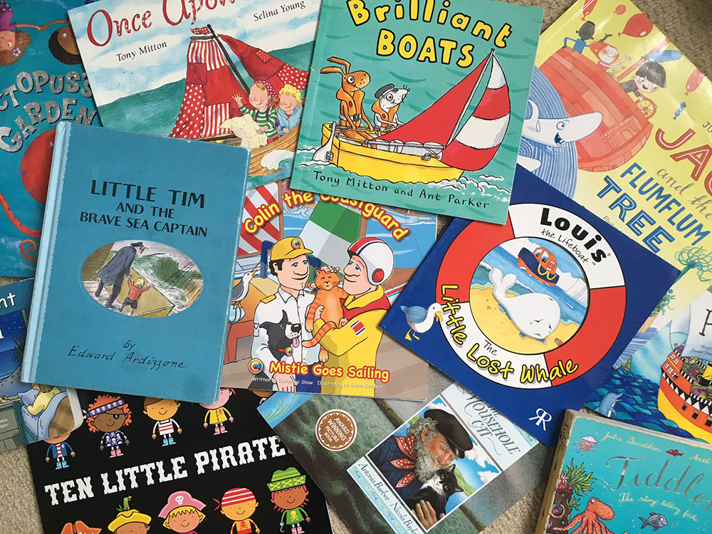 Boating books for children