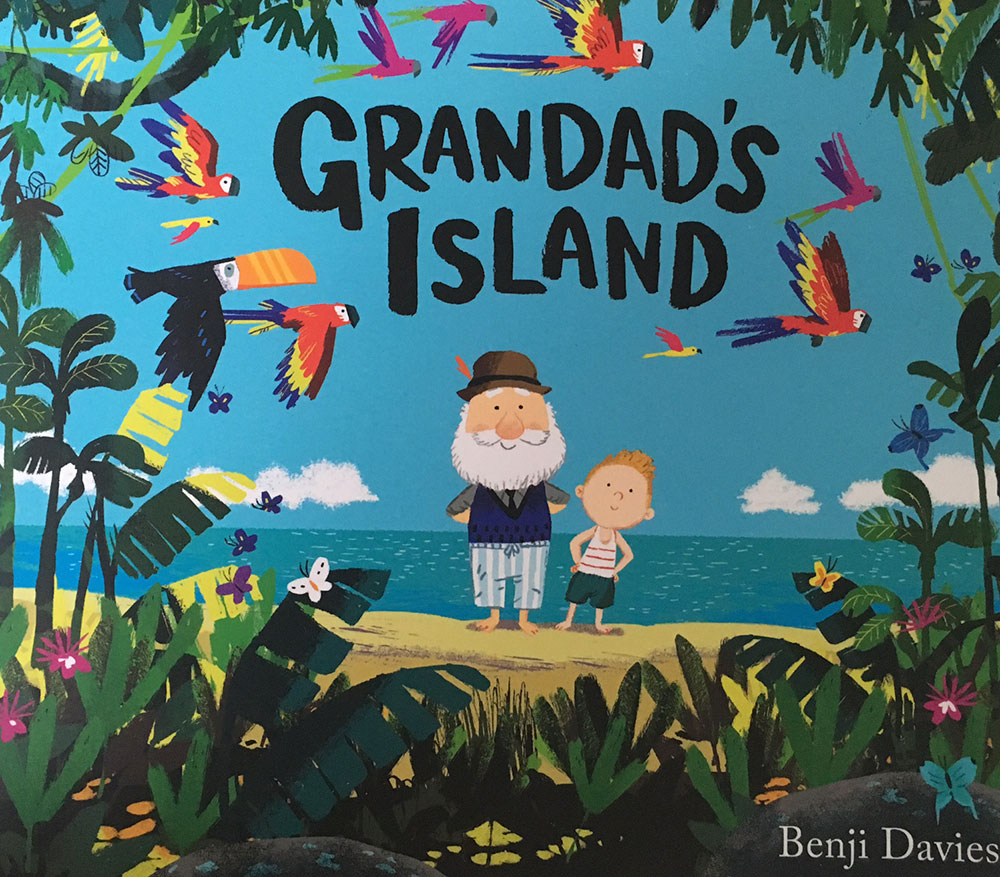 Boating books for children: Grandad's Island