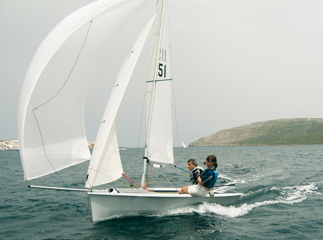 Sailing the 200 downwind