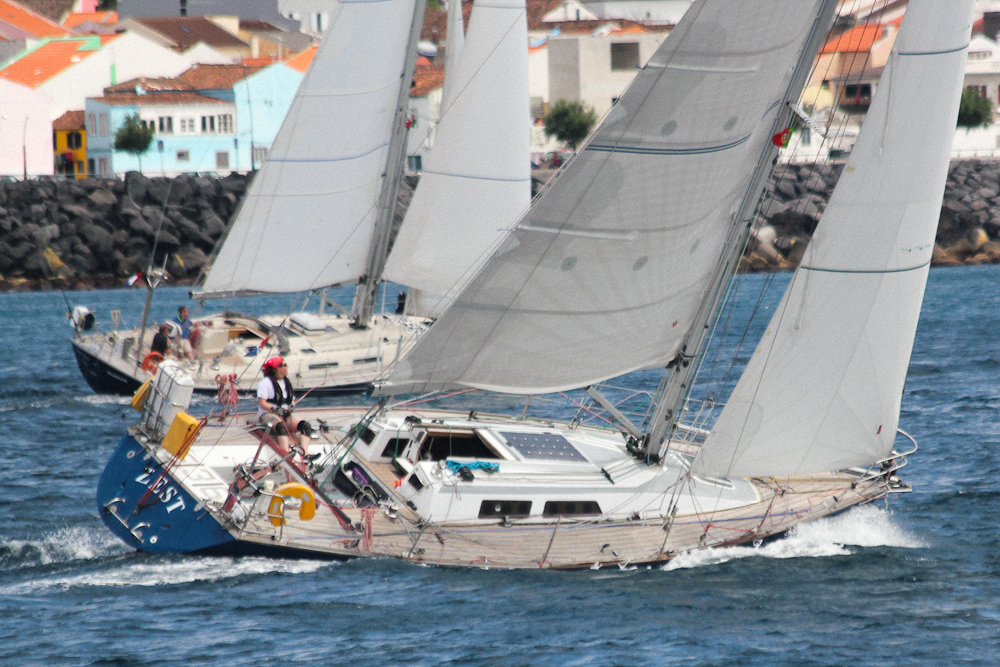 Photo of yacht sailed single handed