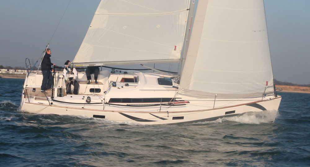 Test sails and sea trials