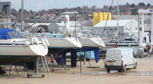 Choosing the right boatyard