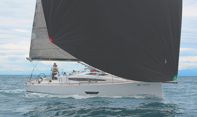 Light wind performance: Offshore cruising yacht