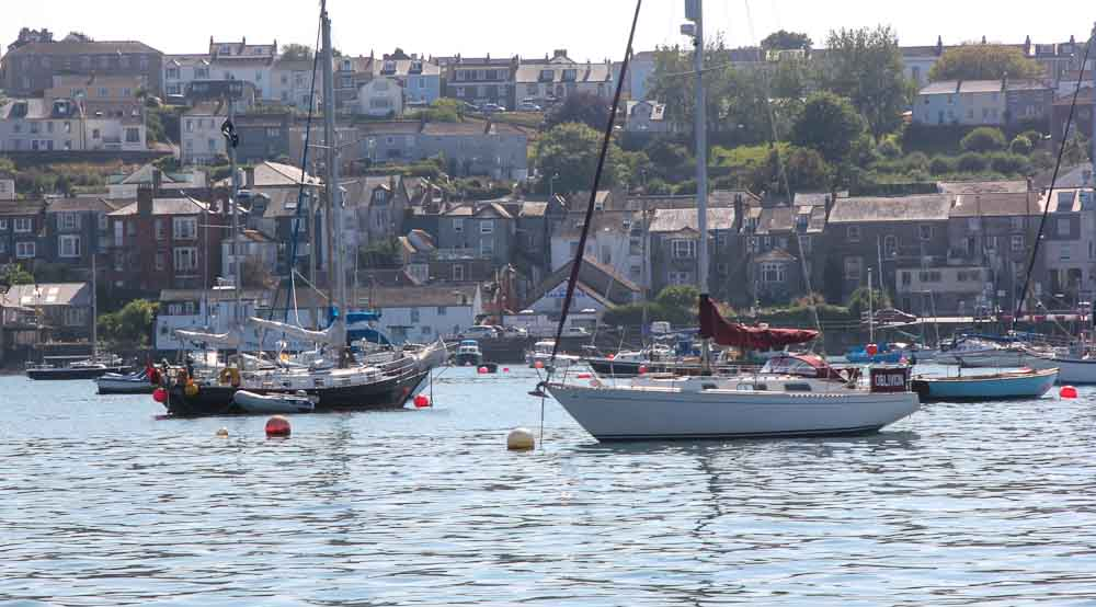 Falmouth to Salcombe – short sea passages