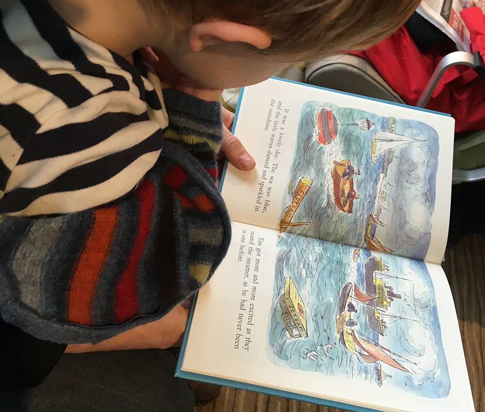 Little Tim and the Brave Sea Captain proved a real hit from the age of two.