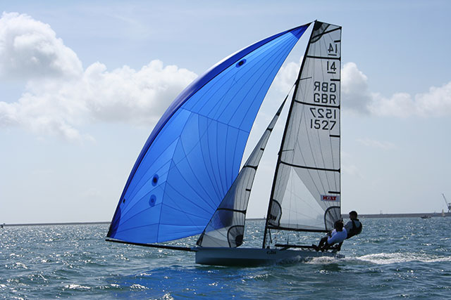 Coolest dinghies: international 14