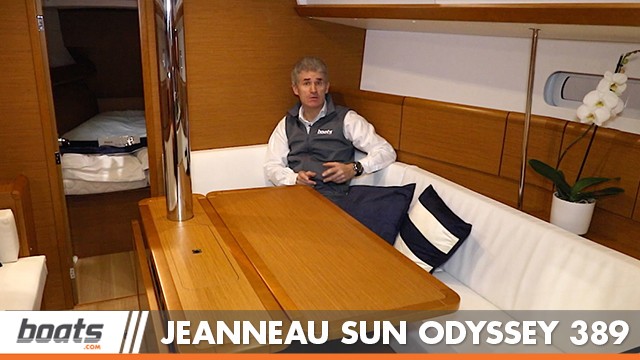 Jeanneau Sun Odyssey 389: First Look Video