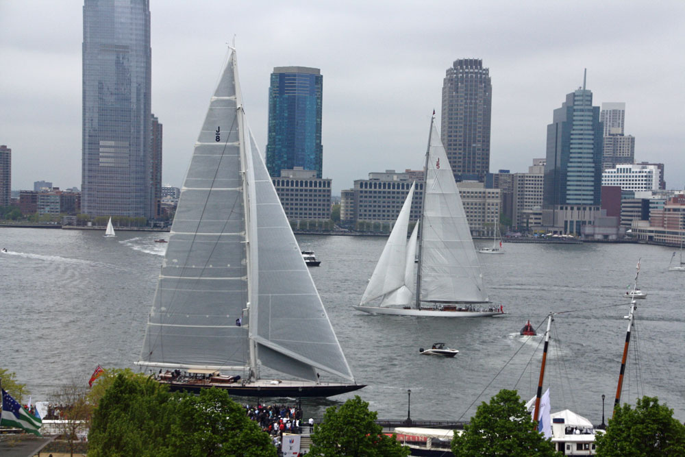 J Class yachts Topaz and Ranger: America's Cup New York