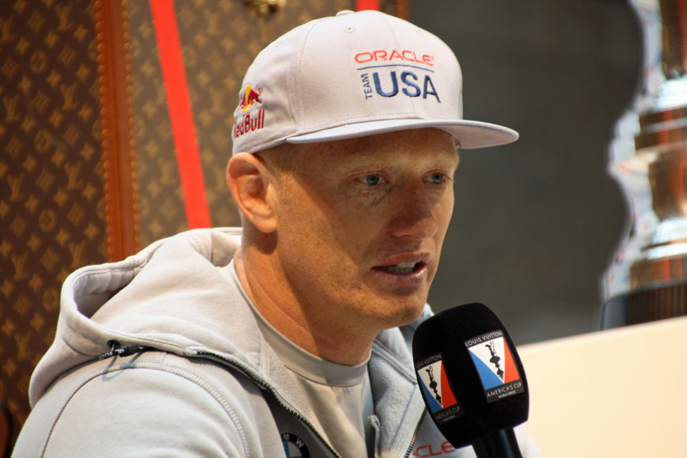 Jimmy Spithill: America's Cup New York