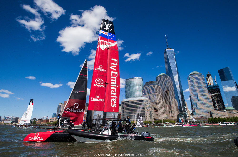 Emirates Team New Zealand: America's Cup New York