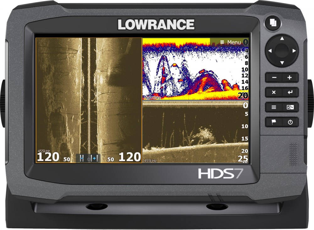 Lowrance HDS 7: best plotter for sport fishing