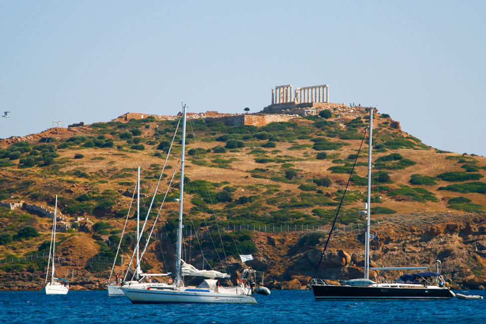 Greek yacht charter destinations